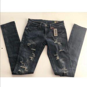 BlankNYC Blue Denim Skinny jeans Size 24
